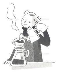 コーヒーを入れる女性20037002374の写真素材イラスト素材アマナ