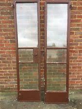 metal door. crittall solid metal french doors door