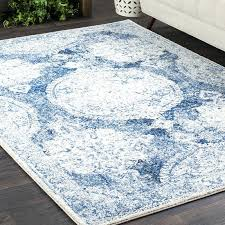 blue and white area rugs blue and white wool area rugs
