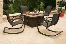 propane fire pit table with chairs. outdoor fire pit tables with chairs : choosing the right \u2013 latest home decor ideas propane table