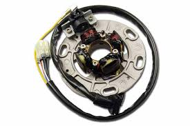 combined lighting ignition stator for yamaha yz125 96 04 st4138l combined lighting ignition stator