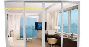 china single glass aluminium sliding door for terrace and balcony