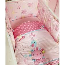 clair de lune lottie squeek crib quilt and per set