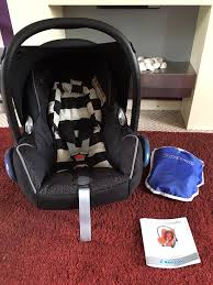 maxi cosi cabriofix car seat with rain cover instruction book