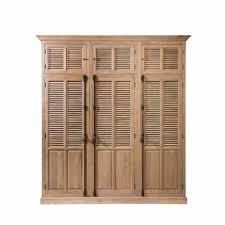 Schlafzimmer Kleiderschrank Mit Drei Türen In Eiche Massivholz Taunton