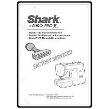 Shark Euro Pro Sewing Machine Manual 7133