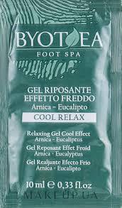 <b>Гель</b> для ног <b>расслабляющий с охлаждающим</b> эффектом