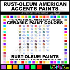 Rust Oleum American Accents Color Chart Heirloom White American Accents Ceramic Paints 7921830