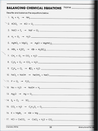 49 balancing chemical equations worksheets with answers 200064 worksheet balancing word equations chapter 10