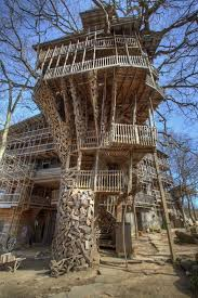 Take A Virtual Tour Of The Worldu0027s Largest Treehouse  EcoWatchLargest Treehouse In America