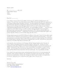 Student Athlete Cover Letter Sample Cover Letter