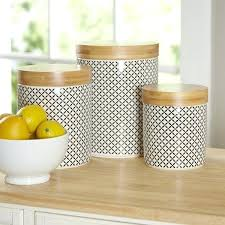 blue and white kitchen canister sets full size
