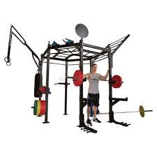 <b>Гексагональная рама</b> для кросс-тренинга <b>Body</b>-Solid CLUB FULL ...