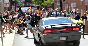 1 dead 19 injured after car plows into protesters in charlottesville cbs news