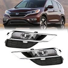 2016 Honda Crv Fog Light Assembly Details About Car Fog Lights Bumper Driving H11 Lamps Switch Framework For Honda Crv 15 16