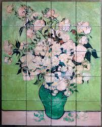 Tile Murals For Kitchen Fine Art Mural Custom Tile And Tile Murals