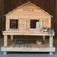 Collect this idea Custom-Built Cat Houses