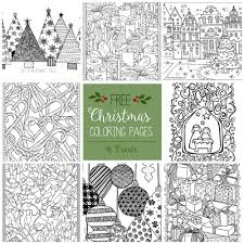 Free coloring pages listed by category. Free Christmas Adult Coloring Pages U Create
