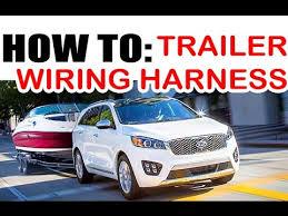 kia hyundai towing wire harness install easy! youtube 2014 kia sportage trailer wiring harness at Kia Sportage Trailer Wiring Harness