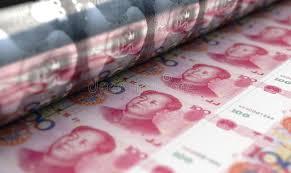 Printing Yuan Renminbi Notes Stock Illustration - Illustration of money, banknotes: 162059015