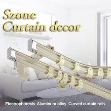 benable i beam wall mounted aluminum curtain track set ceiling mounted curtain rail system