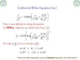 colebrook equation solver matlab tessshlo