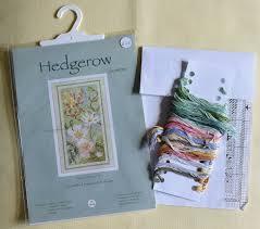 Derwentwater Designs Penrith Derwentwater Designs Hedgerow Small Floral Cross Stitch