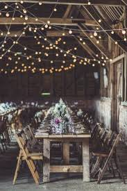 rustic wedding lighting ideas. In This Rustic Wedding Atmosphere, Strings Of Festoon Lights Were Recklessly Woven Upon Another, Lighting Ideas