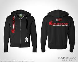 Crossfit Hoodie Designs Spartans Crossfit Springfield Team Apparel Modern Crayon