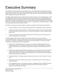 Free Executive Summary Template Project Executive Summary