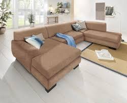 Home Affaire Wohnlandschaft Nika Braun 347cm Recamiere Links Fsc Zertifiziert