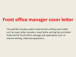 Hotel Front Office Manager Cover Letter Examples ...