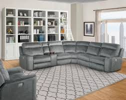 parthenon power reclining sectional by parker house