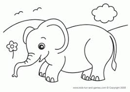 Small Picture Mom And Baby Elephant Coloring PagesAndPrintable Coloring Pages