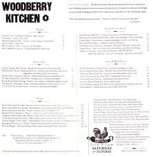 Soup Kitchen Menu Superb Woodberry Kitchen Menu Utumn Sundae Wandaericksoncom