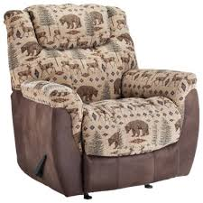 Lane Furniture North Country Rocker Recliner Deer Bear
