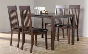 dining room table 4 chairs dining room chair set 2 dining table exclusive ideas dark wood