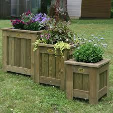 garden planters. TATE Square Planters Garden D