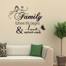 wall decal family art bedroom decor  you can decorate your home without the trouble or expense of paintingideal for dry clean and smooth surfaces simply apply this decal to your wall to