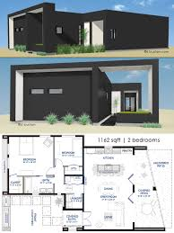 1162 small modern house plan