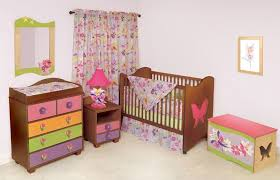 cotton tale designs 4 piece hottsie dottsie crib bedding set for baby girl with colorful chest