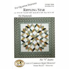 Rippling Star Pattern - Debbie Maddy of Calico Carriage Quilt ... & Rippling Star Pattern Adamdwight.com
