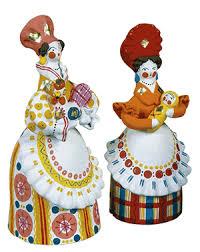 Дымковская игрушка история родина город  Дымковская игрушка