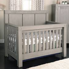Oxford Baby Piermont 4-in-1 Convertible Crib - Rustic Stonington Grey