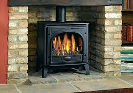 freestanding natural gas fireplace for installation