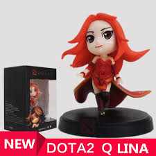 online shop wholesale 1pcs q lina dota 2 figure heros cm fv pvc