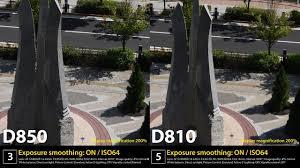 comparison of image quality nikon d850 and d810