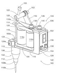 Tattoo machine power supply wiringram patent us20100192730 control inside wiring diagram