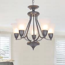 chic 5 light glass shade hanging chandelier for dinning room regarding hanging chandelier view 9