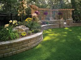 Small Picture Landscaping ideas for downward sloping backyard with pergola